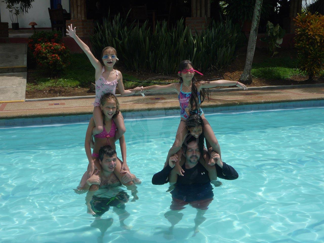 Diversión en el agua Hotel & Restaurante Parador del Gitano